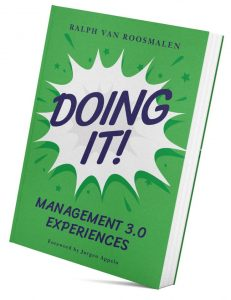 "Management 3.0 Book ""Doing it"" by Ralph van Roosmalen"