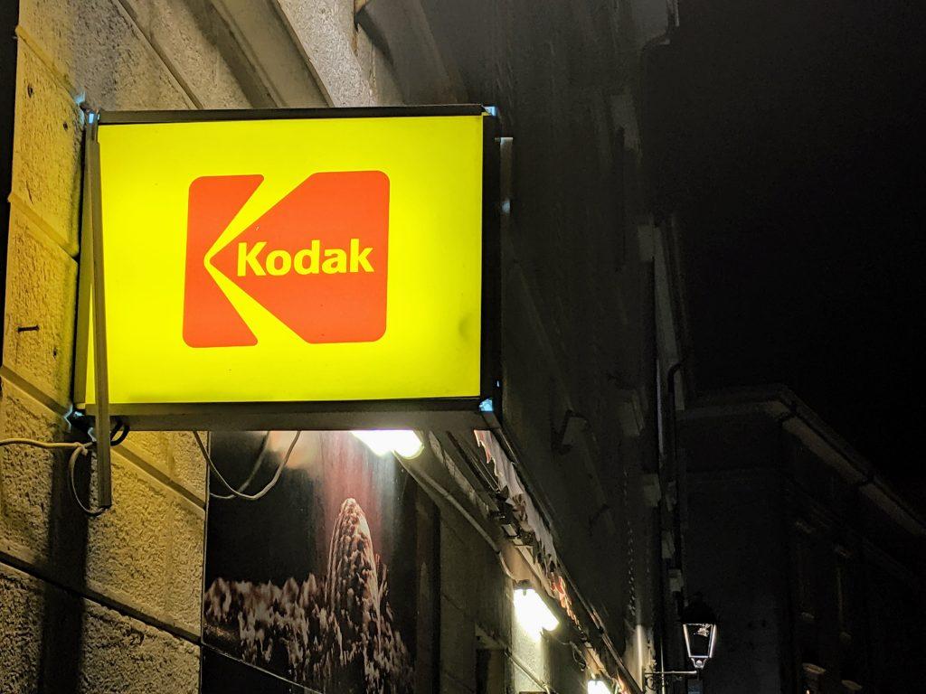 Billboard of Kodak